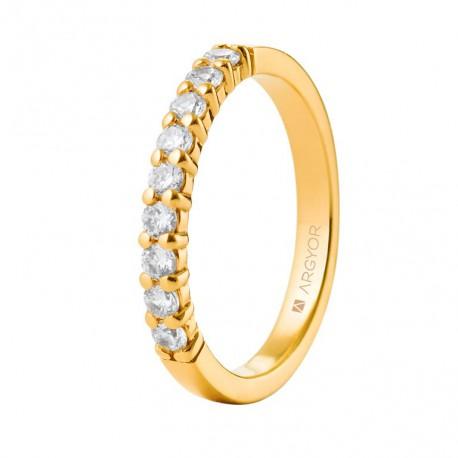 Inel cu diamante 14k 74A0058