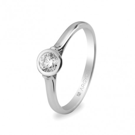 Inel de logodna diamant 0.30 ct 14k 74B0022