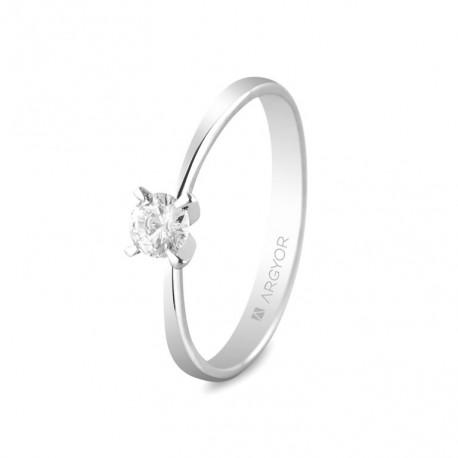 Inel de logodna diamant 0.25ct 14k 74B0030