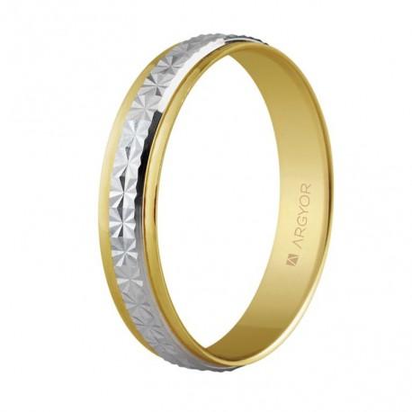 Verigheta din aur bicolor de 14k 5240108