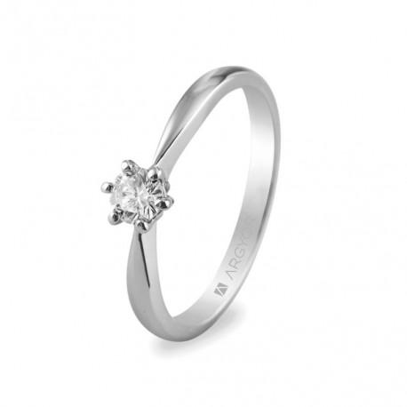 Inel de logodna diamant 0.25 ct 14k 74B0016