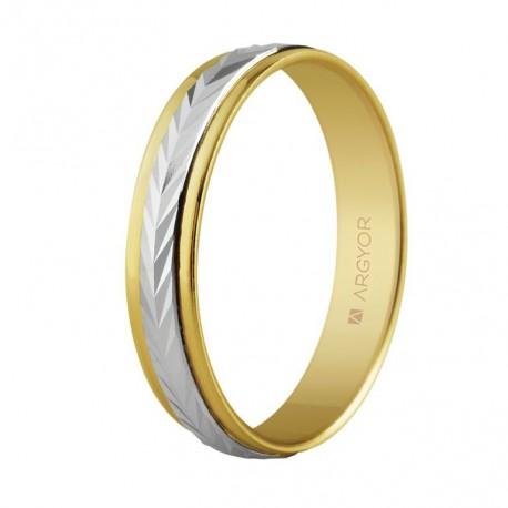 Verigheta din aur bicolor 14k 5240283