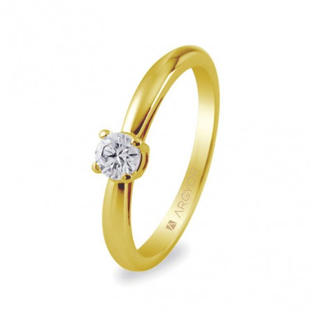 Inel de logodna diamant 0.16 ct 14k 74A0010