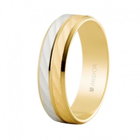 Verigheta din aur bicolor 14k 5260426