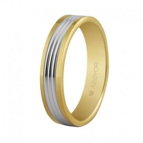Verigheta din aur bicolora de 14k 5250404
