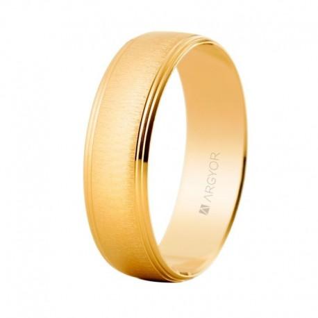Verigheta din aur galben satinat de 14k 5160466 Argyor