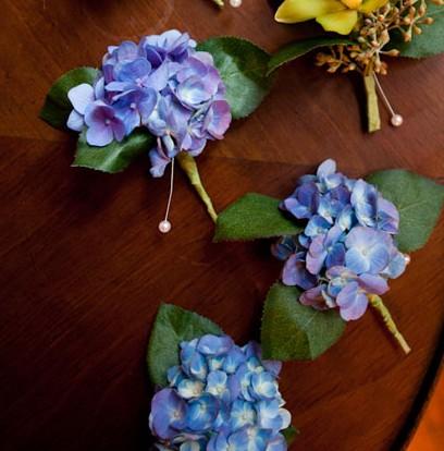 Detalii-flori-mirese - hortensii