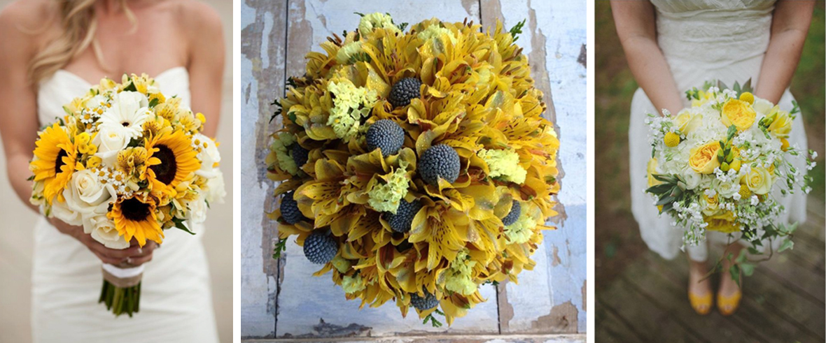 buchete de mireasa in galben -Blog Argyor