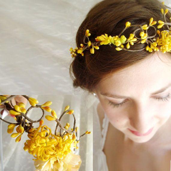 flori galbene in par- Argyor blog