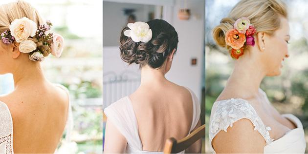 peinado de novia segun el escote del vestido de novia espalda al aire pronovias (2)